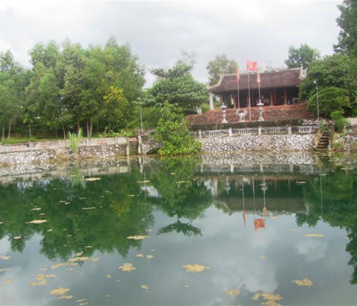 Đền Trầm Lâm và huyền thoại về Vua Hàm Nghi