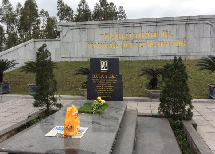 Khu Lưu Niệm Tổng Bí Thư Hà Huy Tập