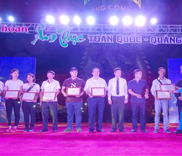 Hà Tĩnh giành giải Nhì tại Liên hoan ẩm thực toàn quốc 2018