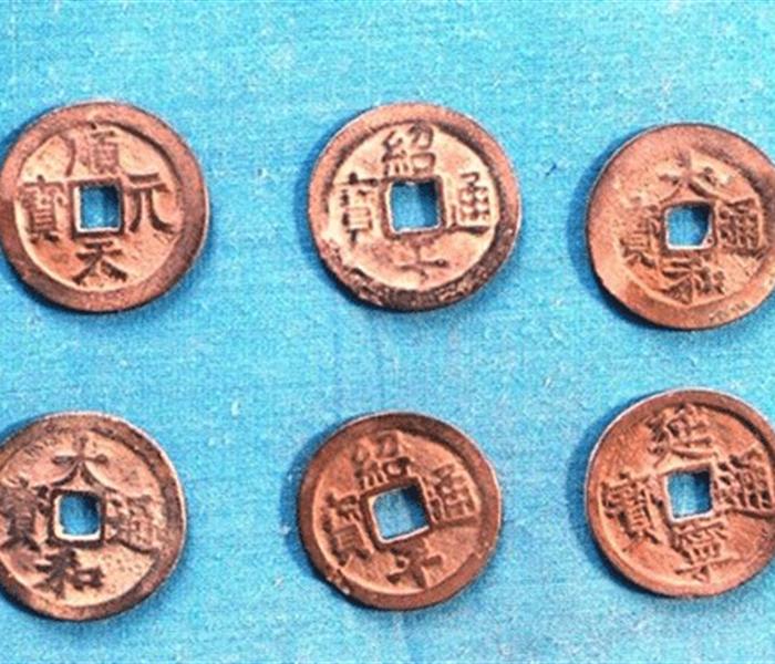 Hà Tĩnh: Phát hiện tiền cổ có niên đại thế kỷ XV