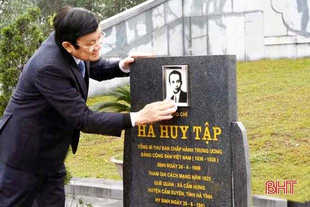 Tổng Bí thư Hà Huy Tập - Nhà lý luận giàu tính chiến đấu